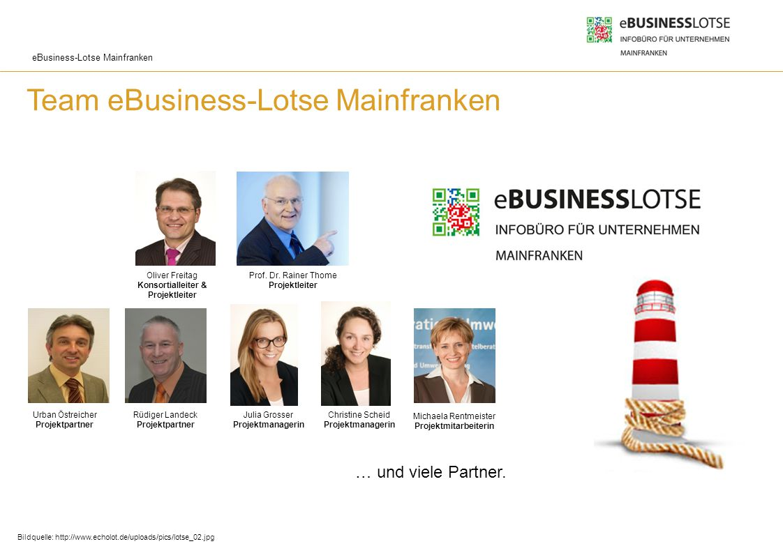 Team eBusiness-Lotse Mainfranken