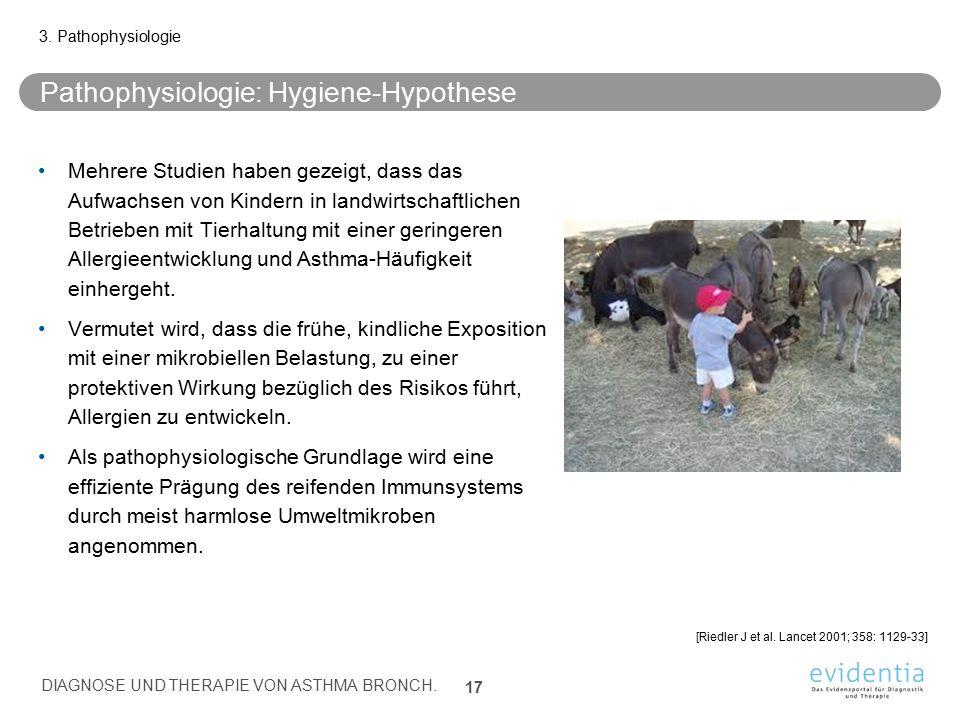 Pathophysiologie: Hygiene-Hypothese