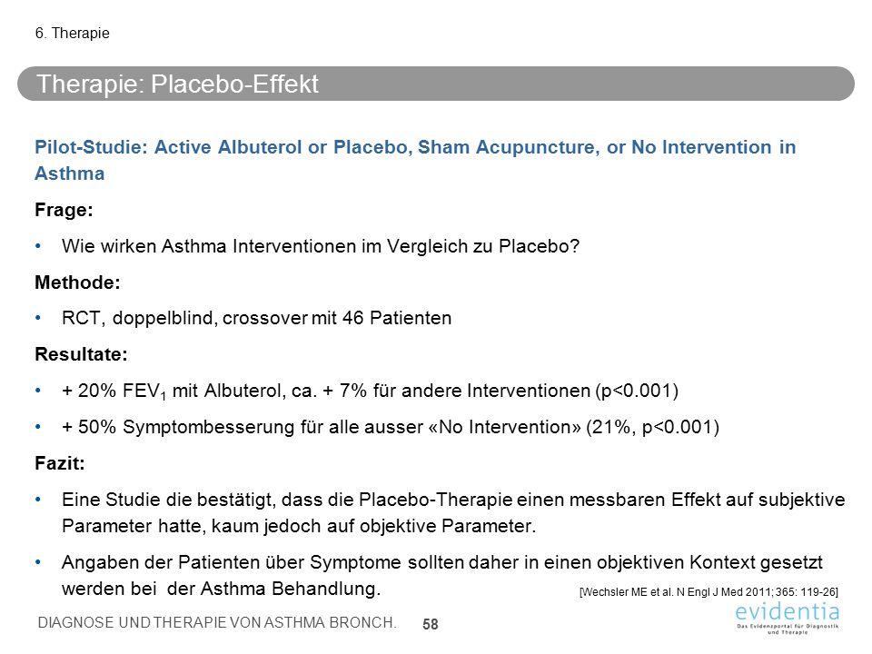 Therapie: Placebo-Effekt