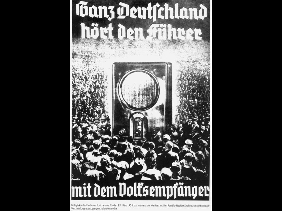 1933 kam Hitler an die Macht.