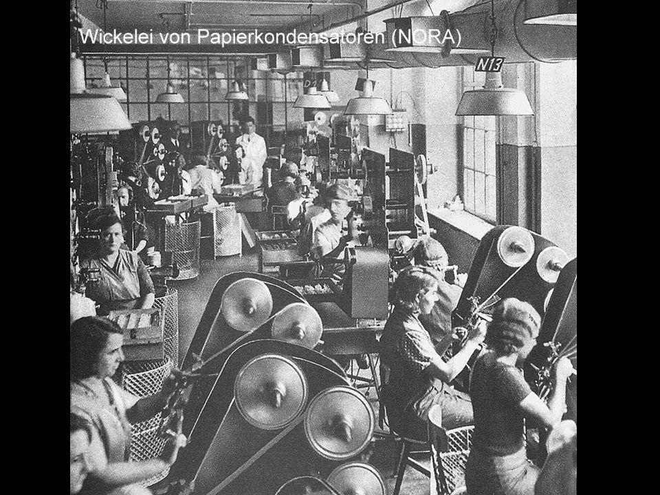 Typische Teile-Fabrik, ca. 1935