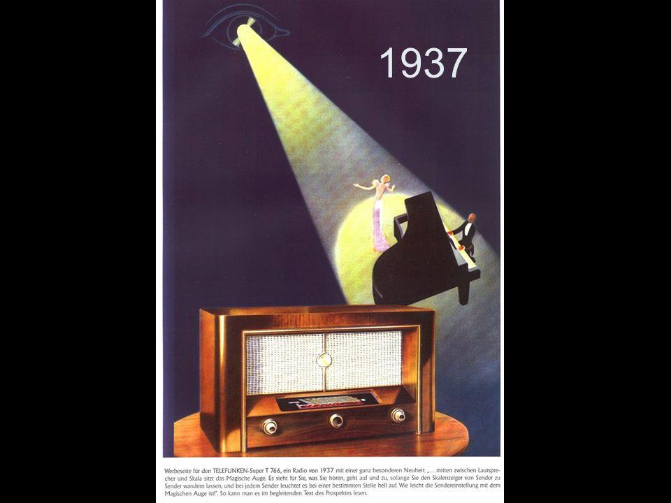 1937 Schöne Werbung