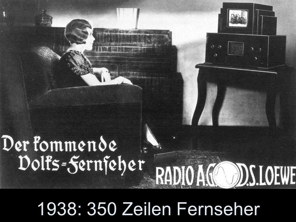 Die Idee: Nach dem Volksempfänger (Radio) sollte ein Volks-Fernseher die Menschen in Deutschland beglücken. Doch der beginnende Krieg beendete die angelaufene Produktion