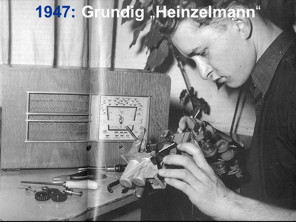 """1947: Grundig """"Heinzelmann"""