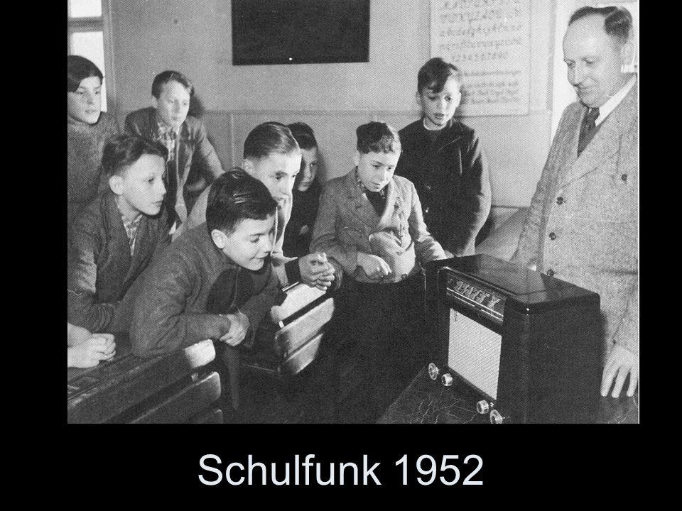 Damals konnte man Kinder noch mit einem Radiogerät begeistern!