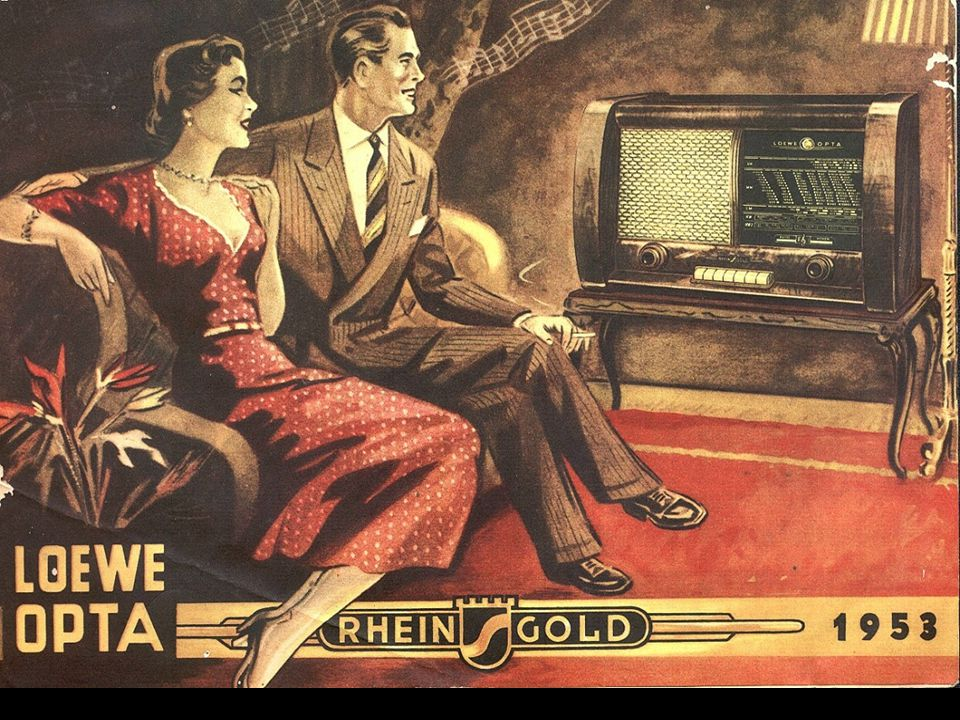 Schon 1952 gab es wieder Luxus