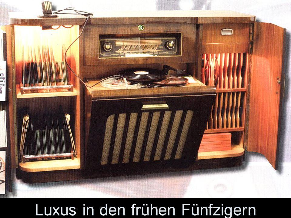 Luxus in den frühen Fünfzigern