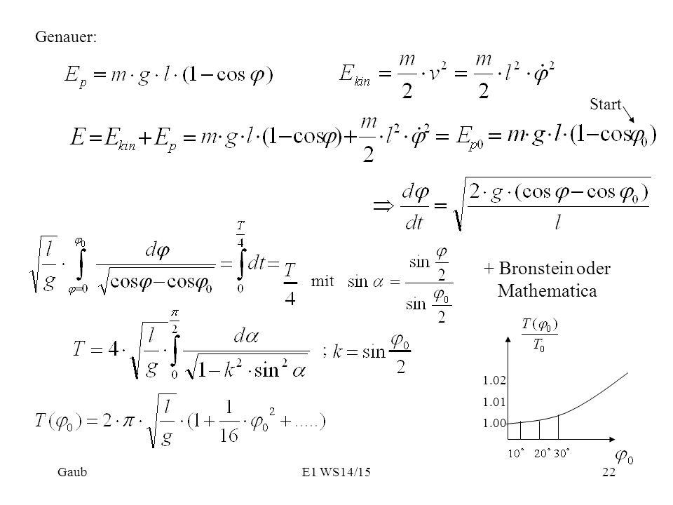 + Bronstein oder Mathematica