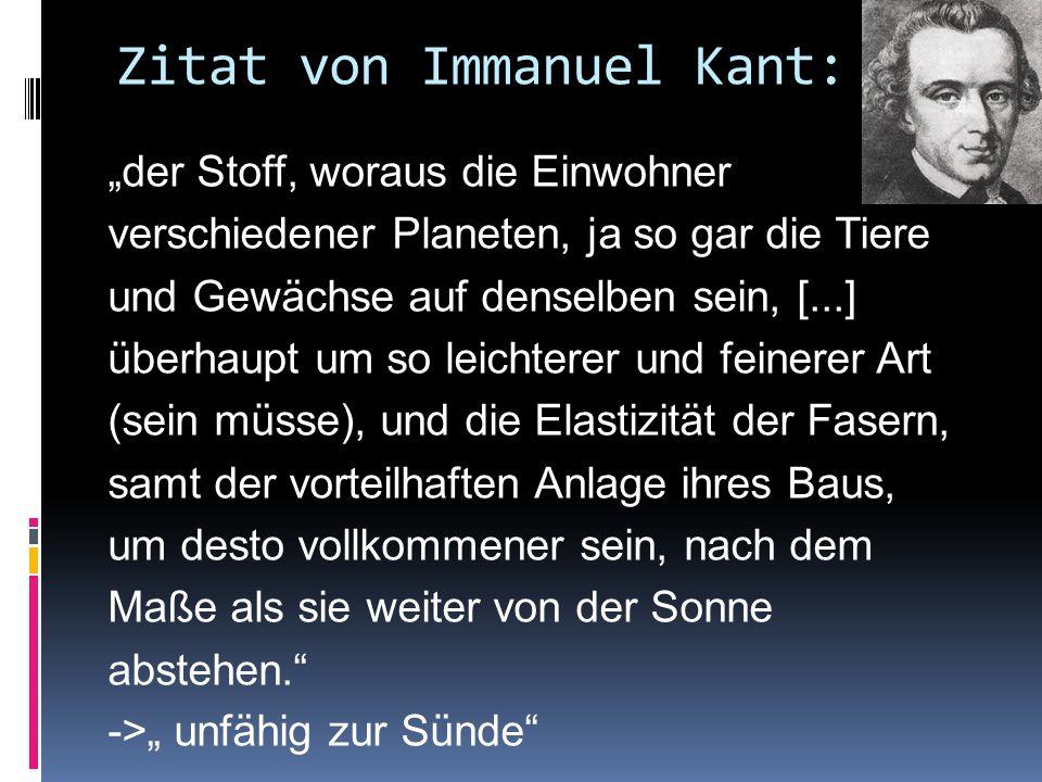 Zitat von Immanuel Kant: