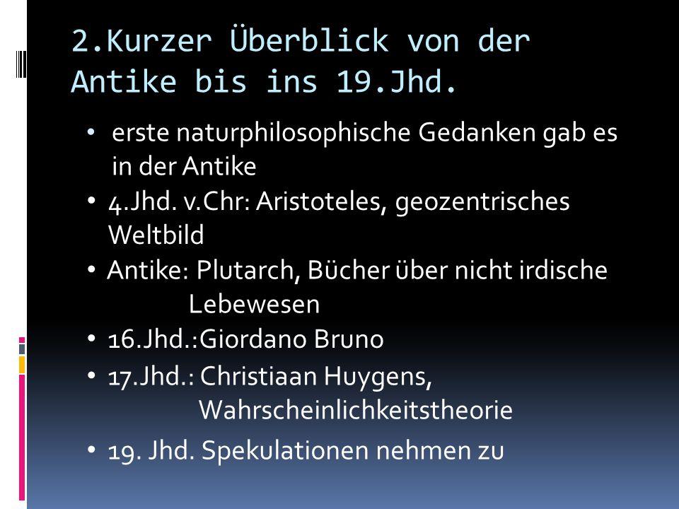 2.Kurzer Überblick von der Antike bis ins 19.Jhd.