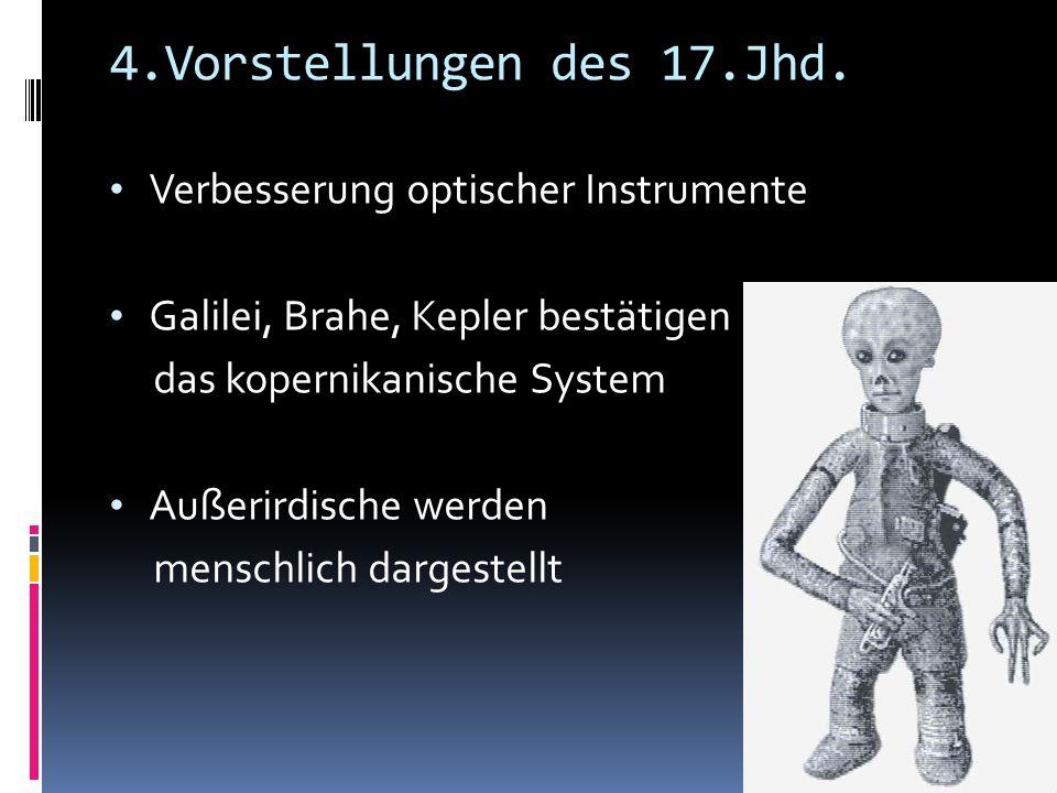 4.Vorstellungen des 17.Jhd. Verbesserung optischer Instrumente
