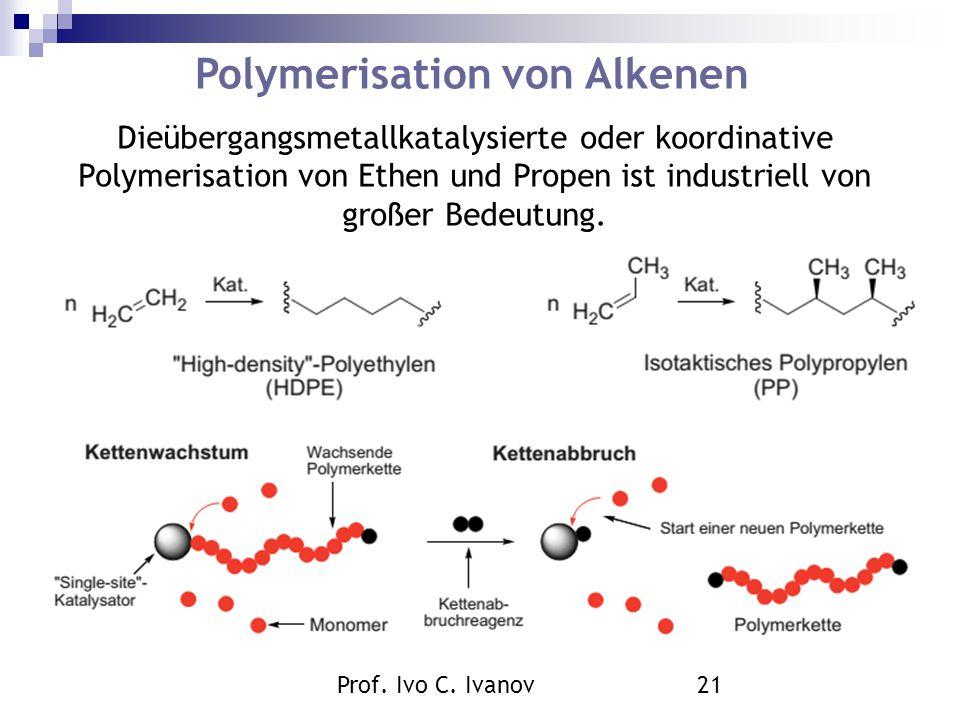 Polymerisation von Alkenen