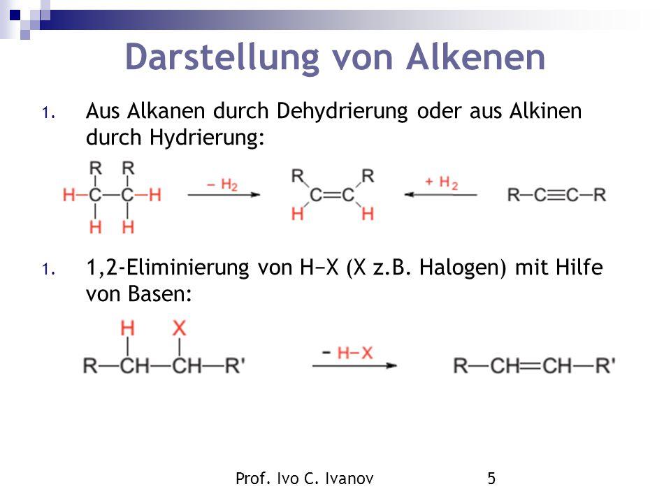 Darstellung von Alkenen