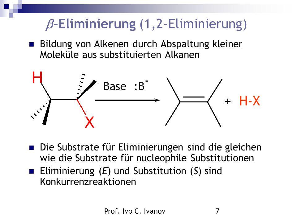 –Eliminierung (1,2-Eliminierung)