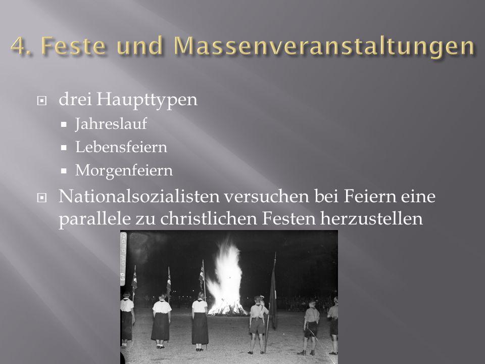 4. Feste und Massenveranstaltungen