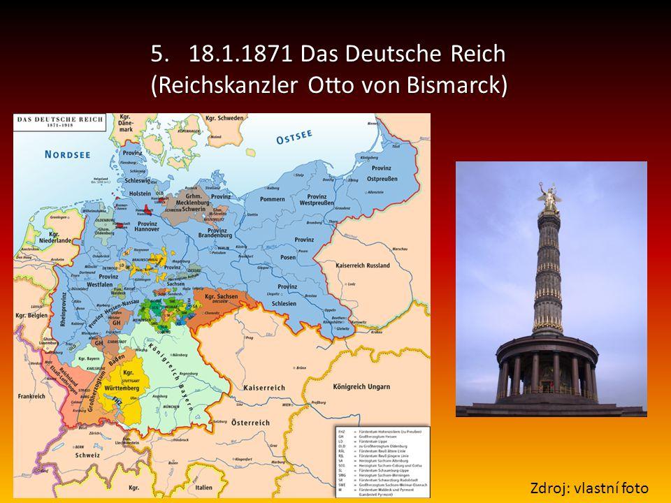 (Reichskanzler Otto von Bismarck)