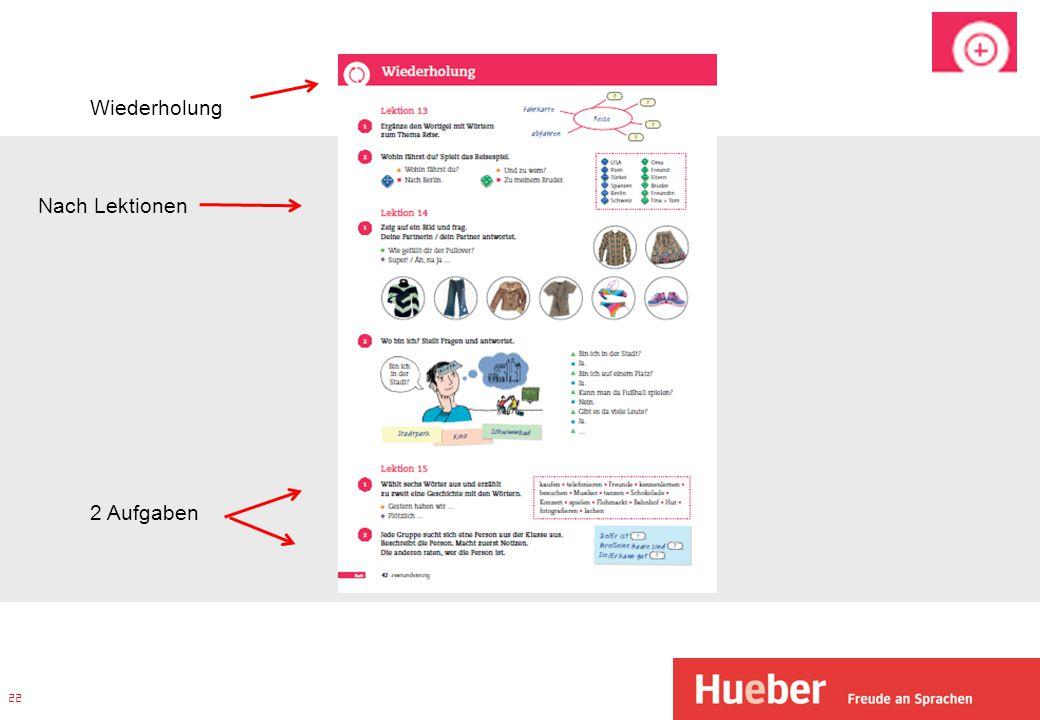Verweissystem Kurs-/ Arbeitsbuch Das Verweissystem