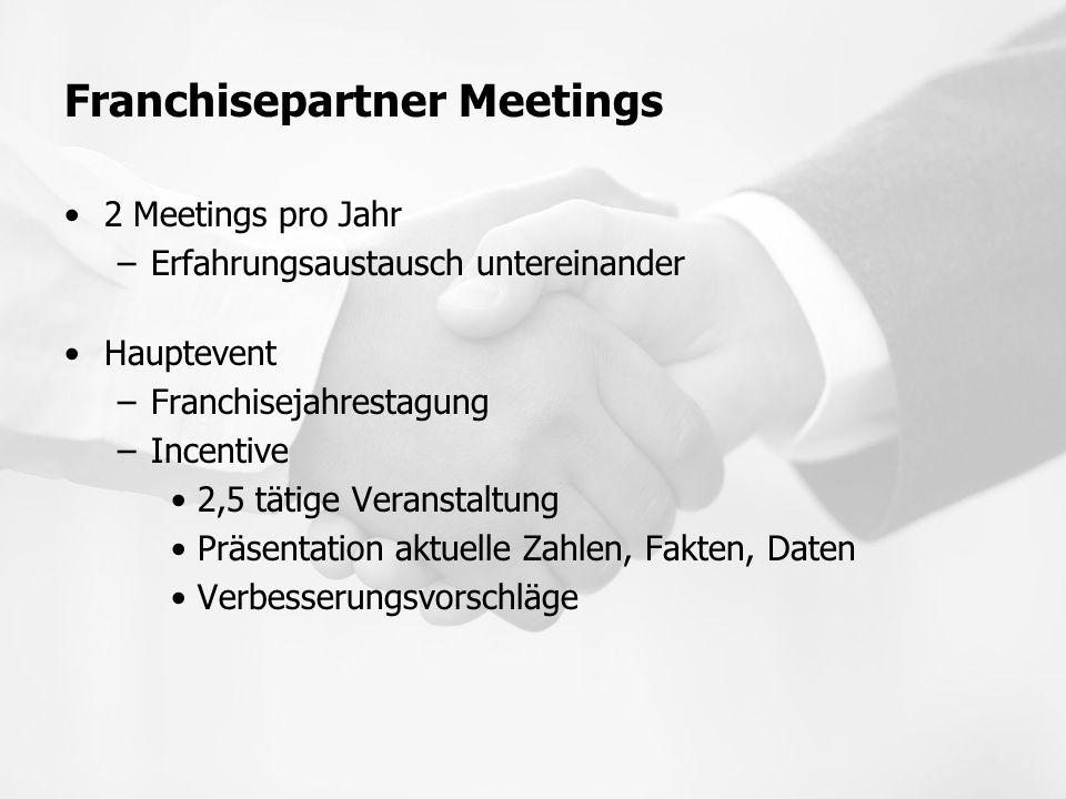 Franchisepartner Meetings
