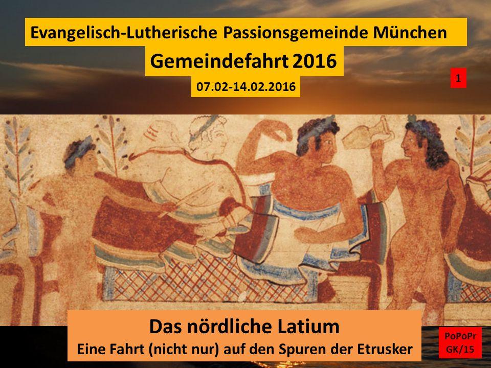 Eine Fahrt (nicht nur) auf den Spuren der Etrusker