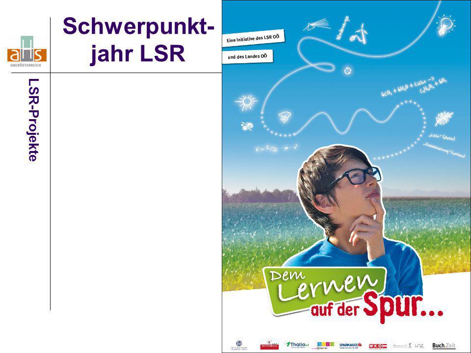 Schwerpunkt- jahr LSR LSR-Projekte
