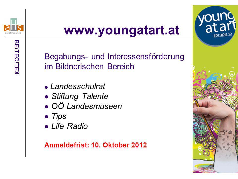 www.youngatart.at Begabungs- und Interessensförderung