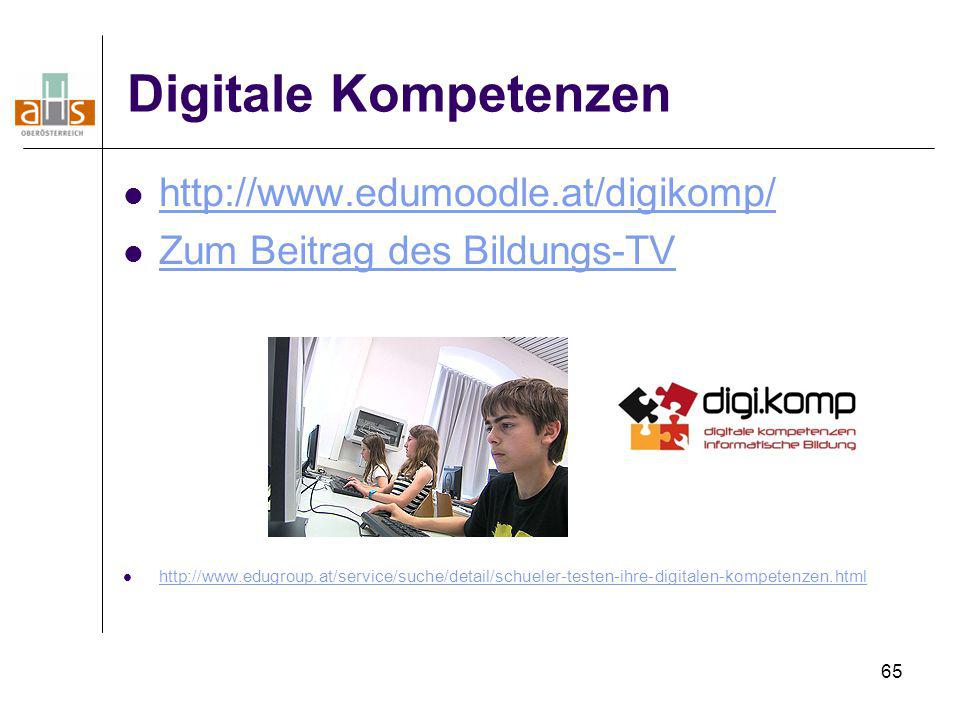 Digitale Kompetenzen http://www.edumoodle.at/digikomp/