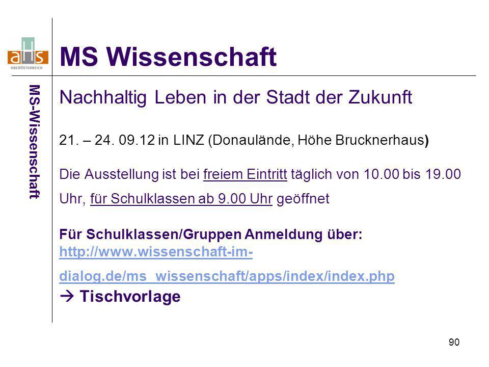 MS Wissenschaft MS-Wissenschaft.