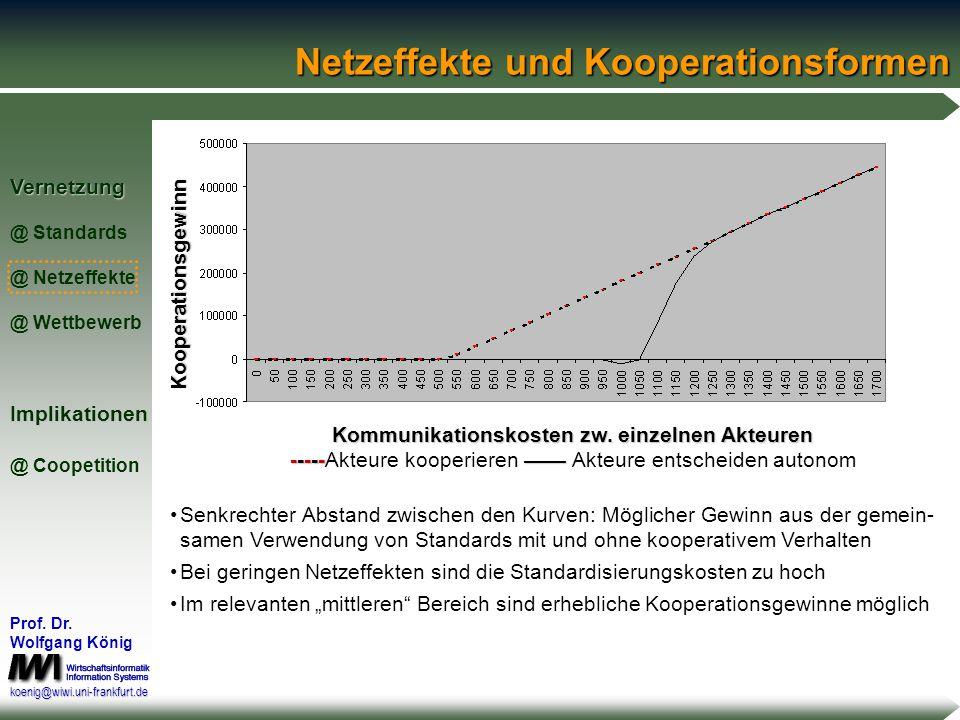 Netzeffekte und Kooperationsformen