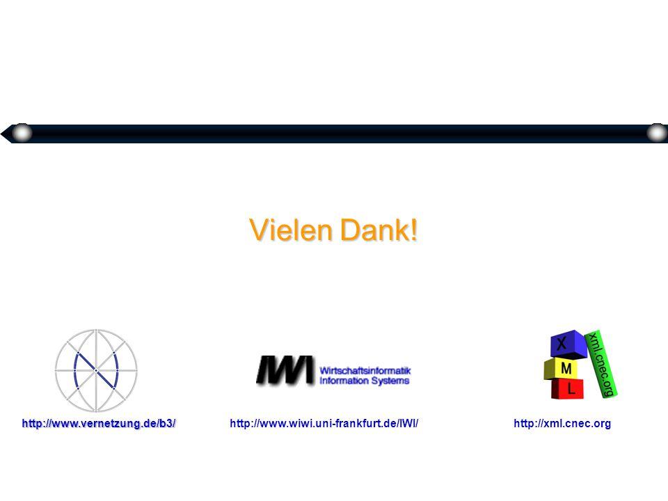Vielen Dank! http://www.wiwi.uni-frankfurt.de/IWI/