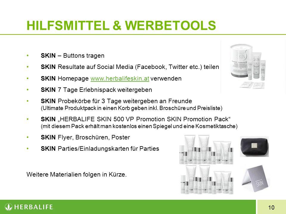 HILFSMITTEL & WERBETOOLS