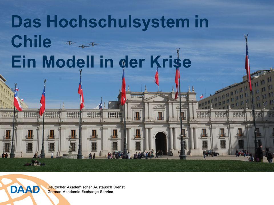 Das Hochschulsystem in Chile Ein Modell in der Krise
