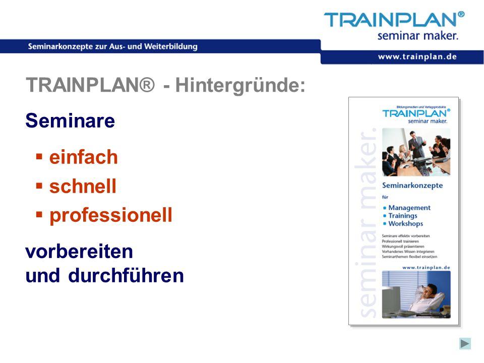 TRAINPLAN® - Hintergründe: