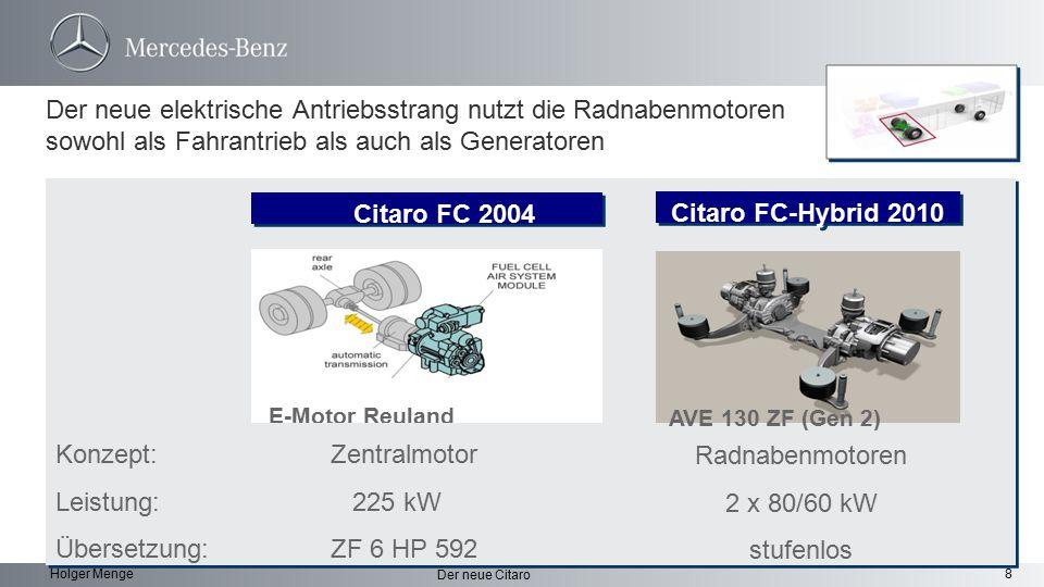 Citaro FC 2004 Citaro FC-Hybrid 2010