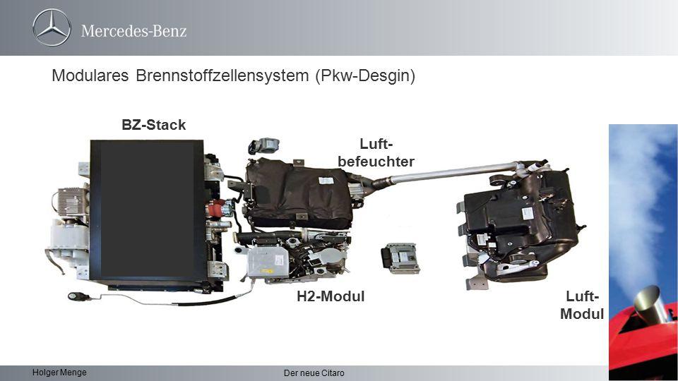 Modulares Brennstoffzellensystem (Pkw-Desgin)