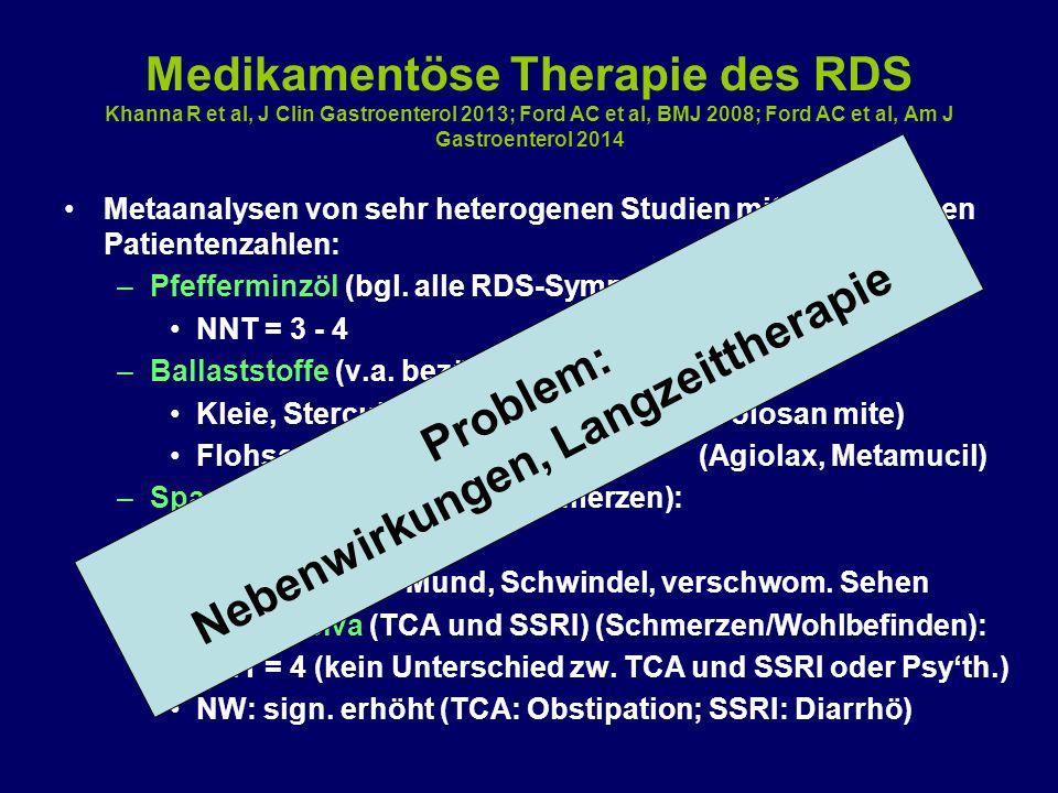 Nebenwirkungen, Langzeittherapie