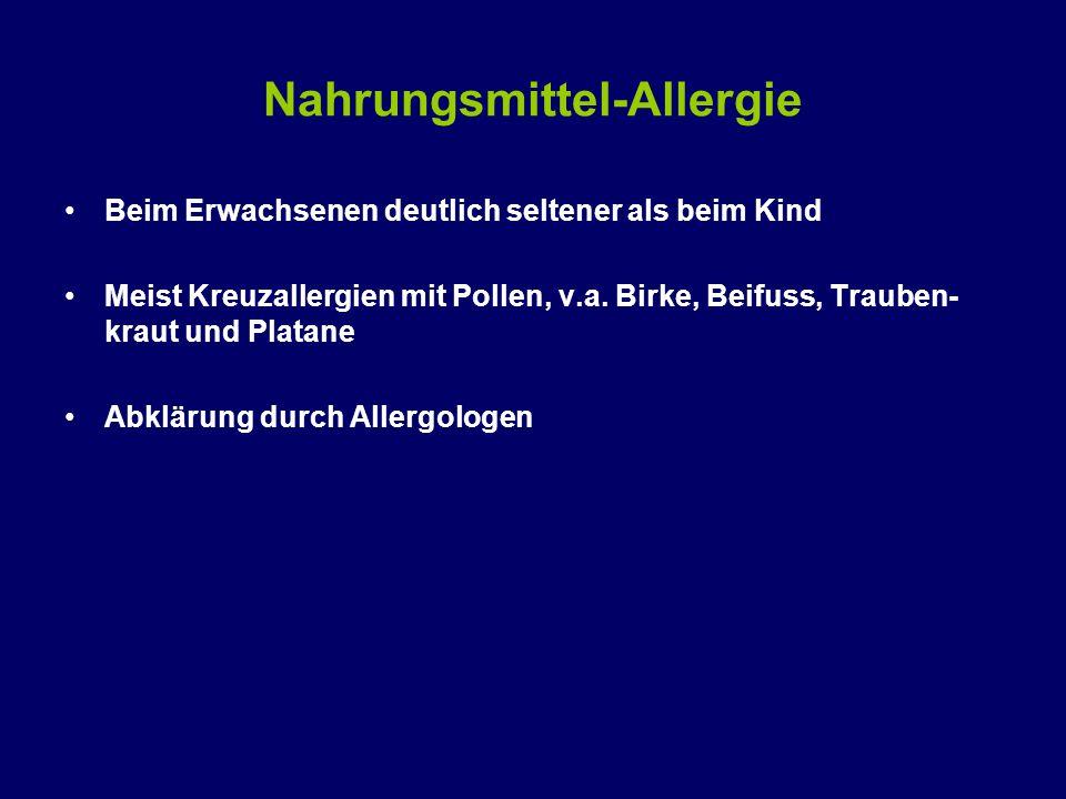 Nahrungsmittel-Allergie