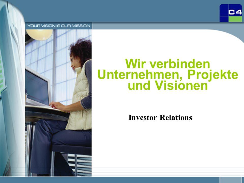 Wir verbinden Unternehmen, Projekte und Visionen
