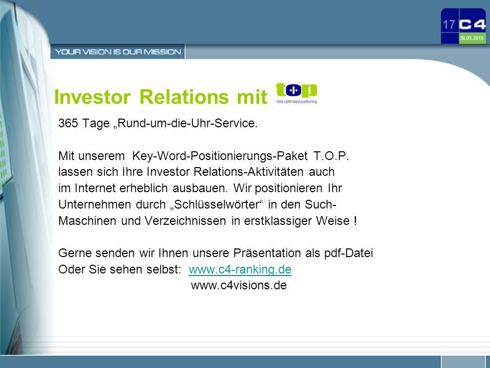 Investor Relations mit