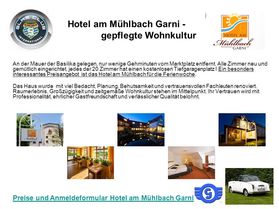 Hotel am Mühlbach Garni - gepflegte Wohnkultur