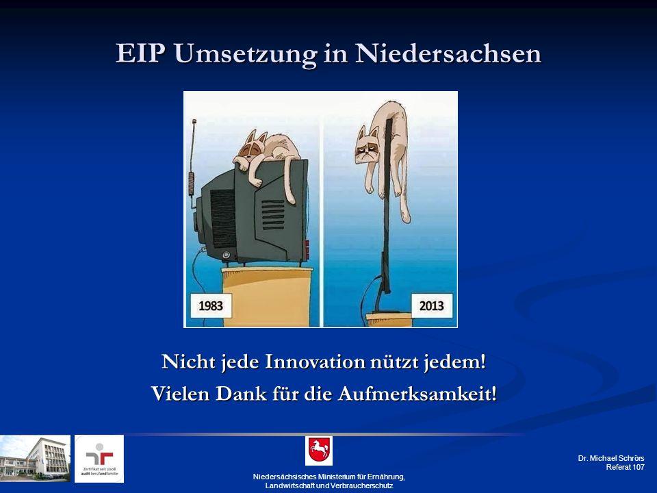 EIP Umsetzung in Niedersachsen