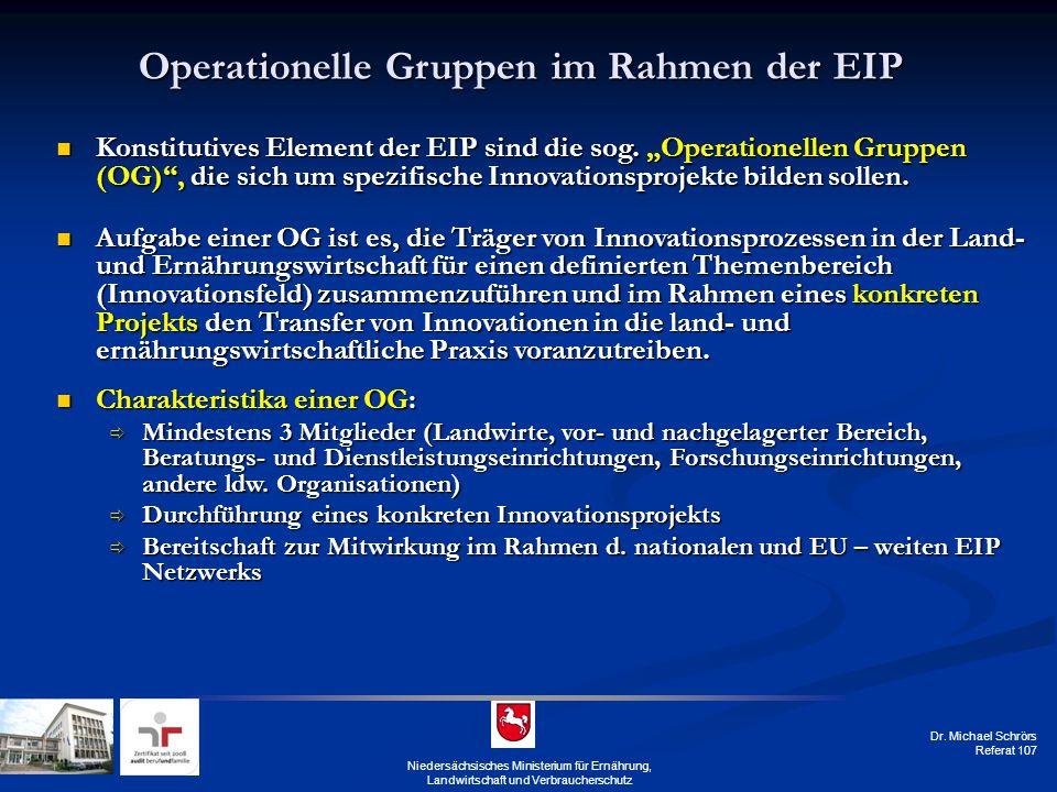 Operationelle Gruppen im Rahmen der EIP
