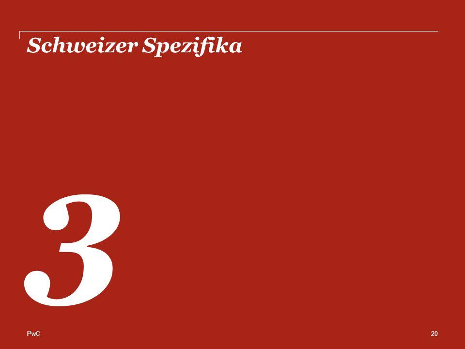 Schweizer Spezifika 3