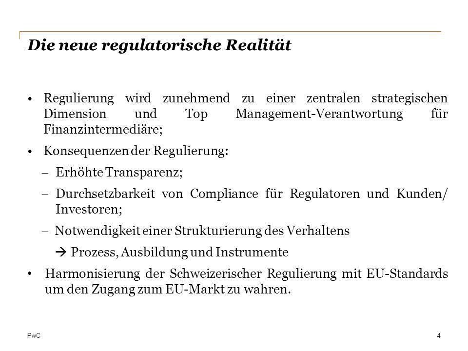 Die neue regulatorische Realität