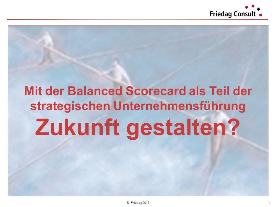 Mit der Balanced Scorecard als Teil der strategischen Unternehmensführung