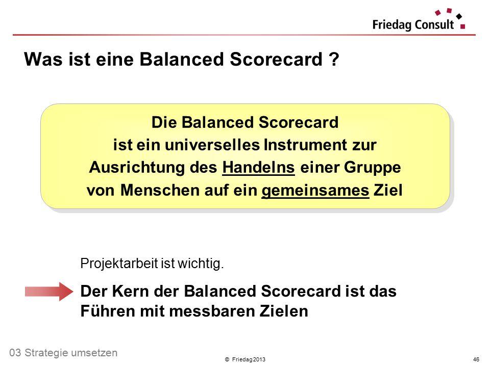 Was ist eine Balanced Scorecard