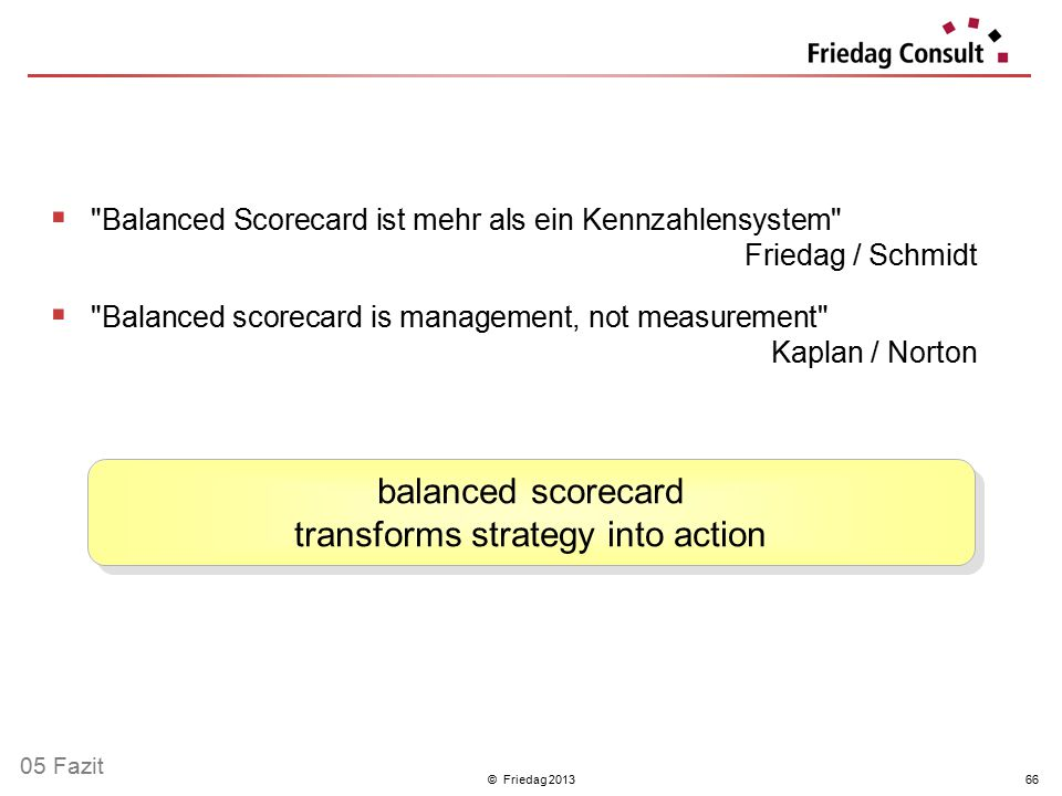 balanced scorecard transforms strategy into action
