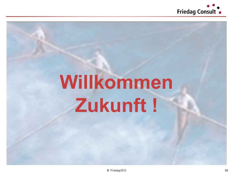 Willkommen Zukunft ! © Friedag 2013