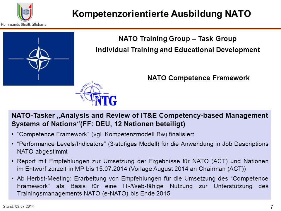Kompetenzorientierte Ausbildung NATO