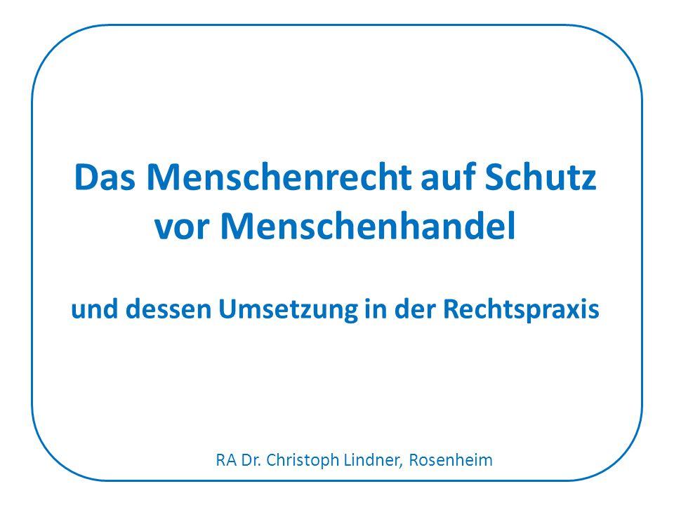 RA Dr. Christoph Lindner, Rosenheim