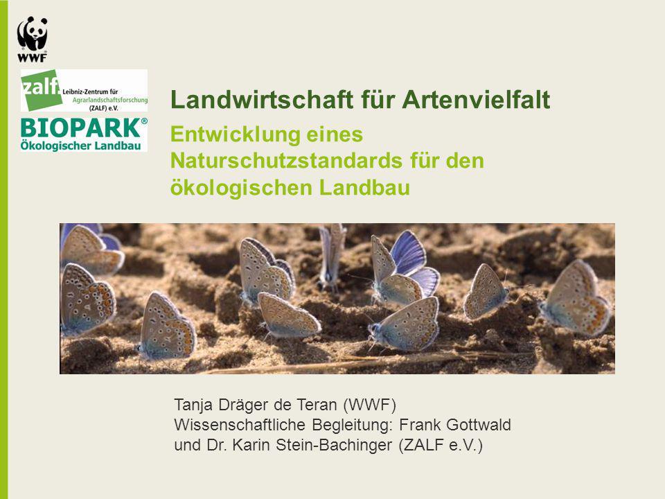Landwirtschaft für Artenvielfalt